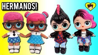 Nuevos Niños Lol Surprise! DIY Familia LOL Para Rocker y Teaches Pet