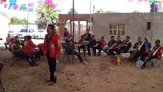Banda La Nueva San Miguel - Terrenal en La Fiesta de San Miguel Tequixtepec 2012