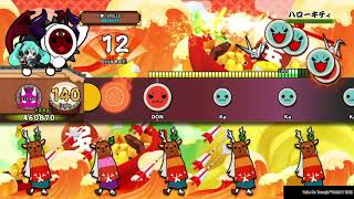 Hello Kitty 4 ★ - Oni Full Combo - Taiko no Tatsujin: Drum Session!