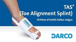 TAS® (Toe Alignment Splint) - Attelle de correction - Hallux Valgus