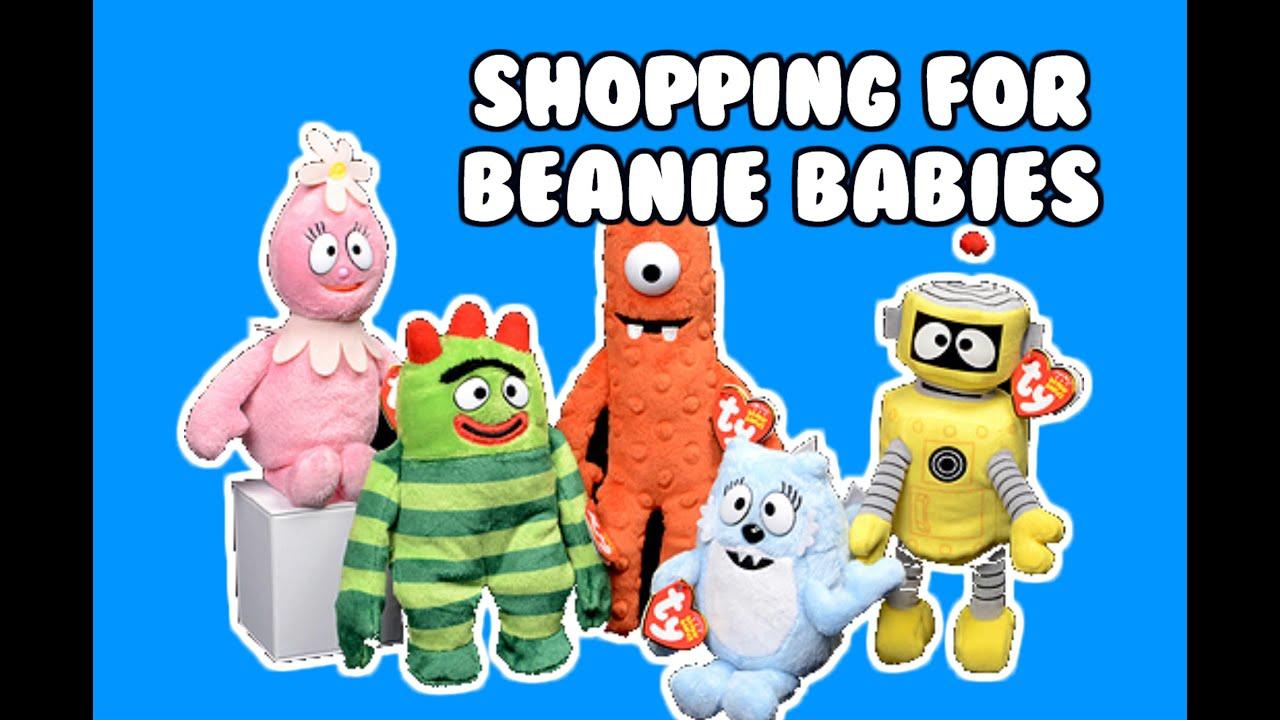 baa86109feb Yo Gabba Gabba Beanie Babies + Peppa Pig