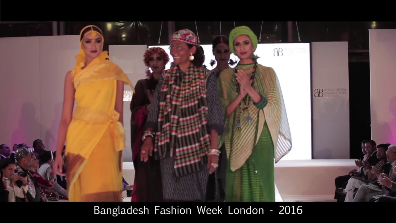 Bangladesh Fashion Week London 2016 Bibi Russell Youtube