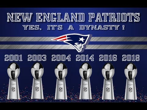 NEW ENGLAND PATRIOTS....       YES, IT'S A DYNASTY !!!!
