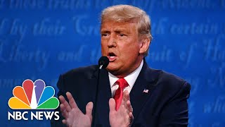 Trump: If Biden Is Elected, 'The Stock Market Will Crash' | NBC News