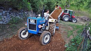 Tractors at Work! | Massey Ferguson 5440 & Ford 3000
