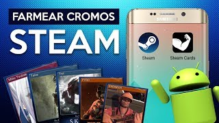 FARMEA CROMOS EN STEAM DESDE TU ANDROID IDLE MASTER