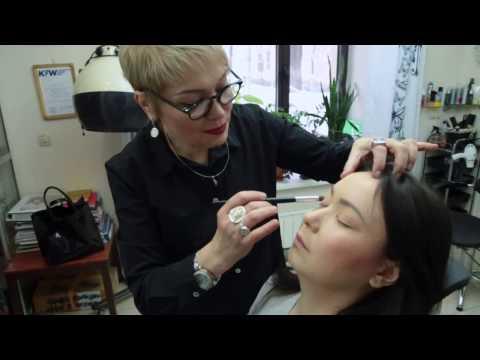 Angels and Demons makeup tutorial part2 / Макияж Ангелы и демоны часть2