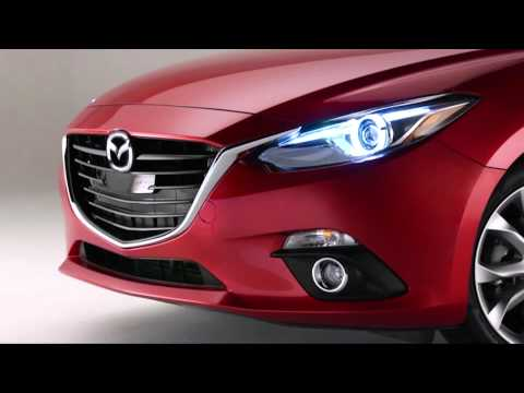How to use the auto leveling Bi-Xenon headlights on the 2015 Mazda3