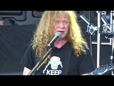 Megadeth Sweating Bullets Rock USA 2017