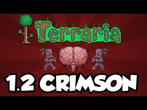 Terraria 1.2 Console Features - The Crimson / Brain of Cthulhu (Terraria Console 1.2 Update)