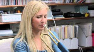 The OHMI Trust - Alison Balsom talks about the Trumpet