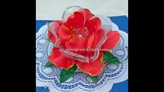 Cómo hacer una Rosa con botella de plástico (Reciclaje)