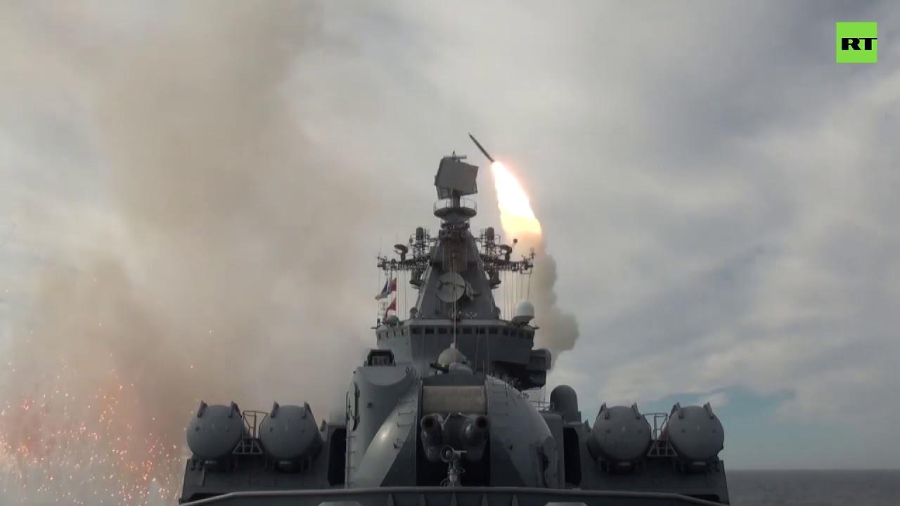 В Охотском море прошли учения ВМФ РФ