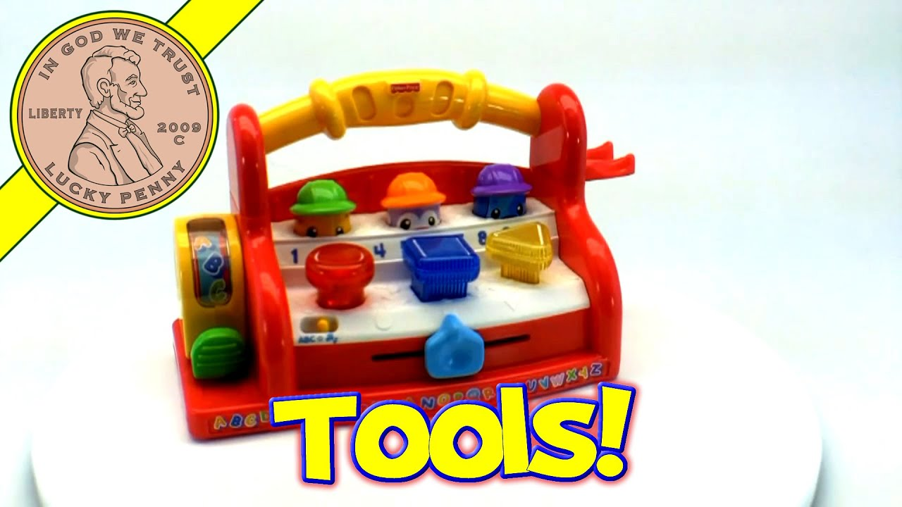 Fisher Price Laugh and Learn Learning Tool Bench Musical ABC s Toy