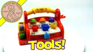 Fisher-price Laugh And Learn Learning Tool Bench Musical Abc's Toy