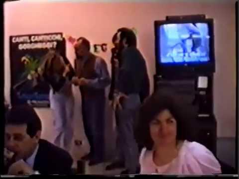 """Karaoke 1994 Cena colleghi BSGSP Reggio Emilia """" Franbol Day """""""