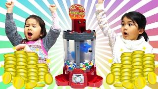 負けたら罰ゲーム!モンスターメダルマシーンでパパと勝負☆himawari-CH thumbnail