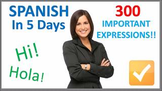 learn spanish in 5 days   conversation for beginners
