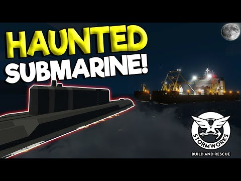 MULTIPLAYER GHOST SUBMARINE & SINKING! - Stormworks: Build and Rescue Gameplay Survival