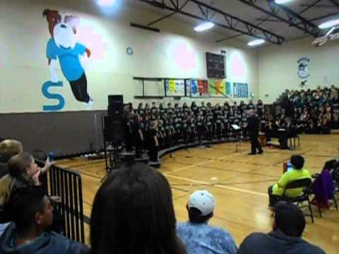 Yoshikai Elementary Honor Choir at Adams Stephens Middle ...