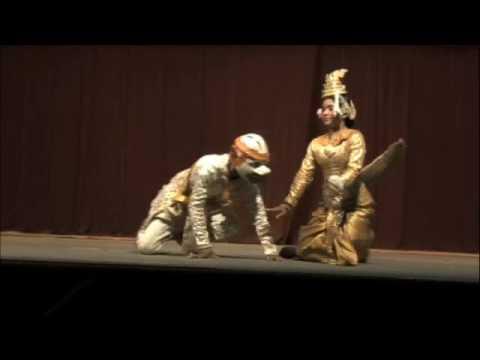 Cambodian Apsara Dance Good Vs Evil - YouTube