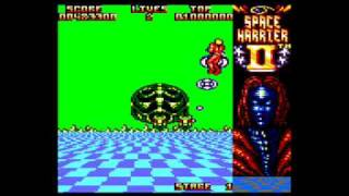 [AMSTRAD CPC] Space Harrier II - Gameplay Run-through