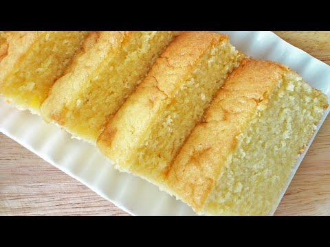 Fluffy Butter Cake 牛油蛋糕 Youtube