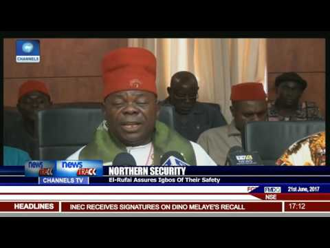 Northern Security El-Rufai Assures Igbos Of Their Safety