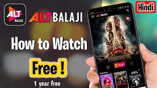 Watch Latest Web-series On Alt balaji 2021 screenshot 5