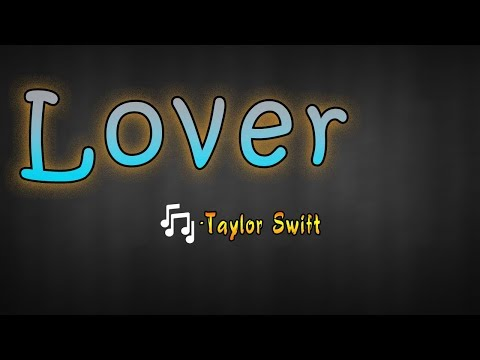 Lover -Taylor Swift    Book  Lyrical Song