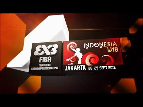[REWATCH] Full day 1 of 2013 FIBA 3x3 U18 World Championships Jakarta (26 Sep.)