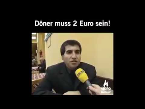 Lustig Döner muss 2 Euro sein