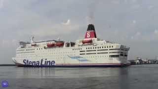 Stena Line - Stena Saga à Frederikshavn