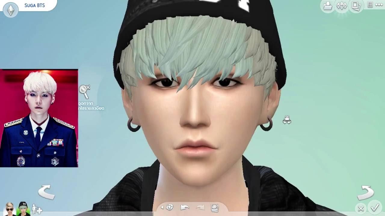 The Sims 4 sugA BTS Create A Sim YouTube