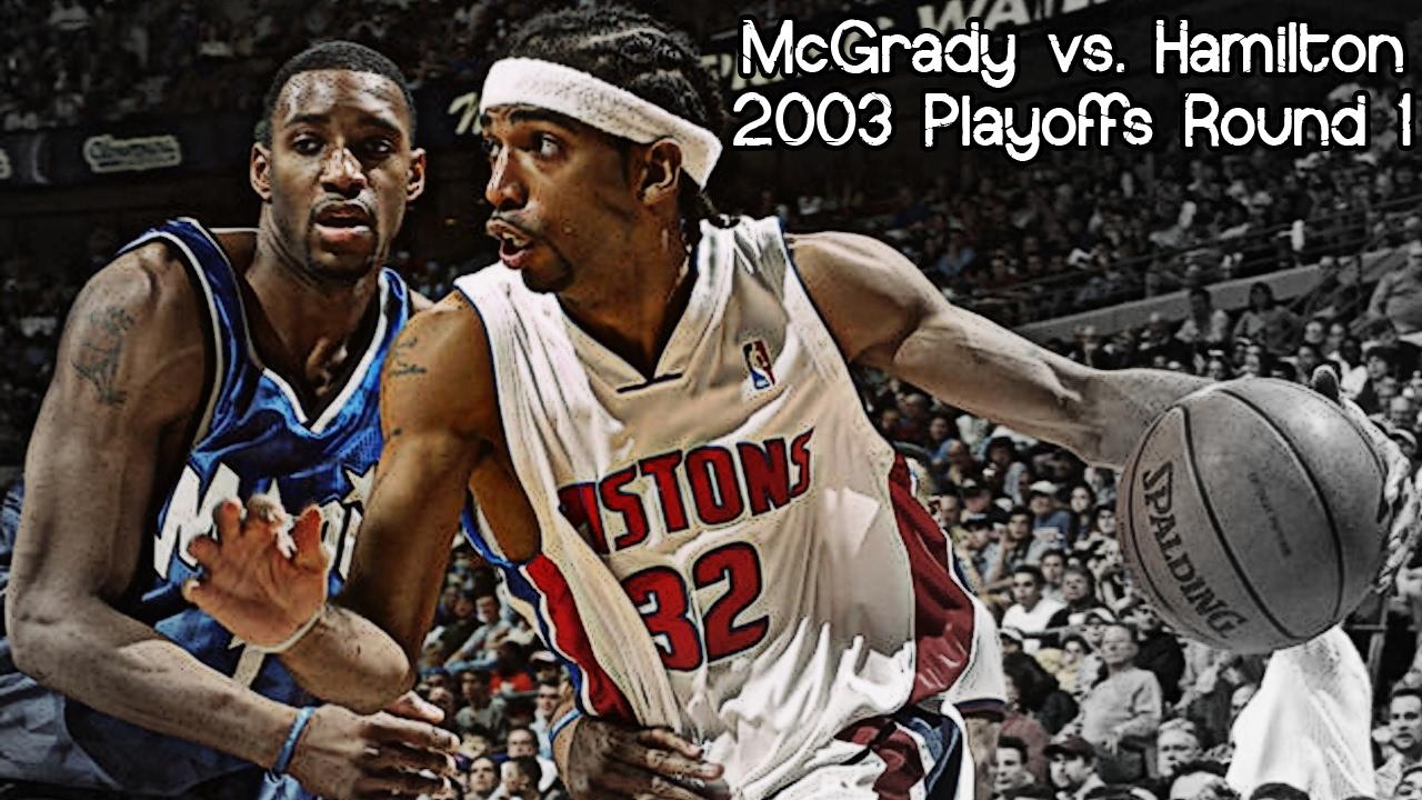 1be2c9936 Tracy McGrady vs. Richard Hamilton Full Duel (2003 NBA Playoffs R1G3 -  Magic   Pistons)