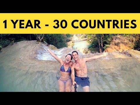 1 Year of Travel Vlogging | 30 COUNTRIES