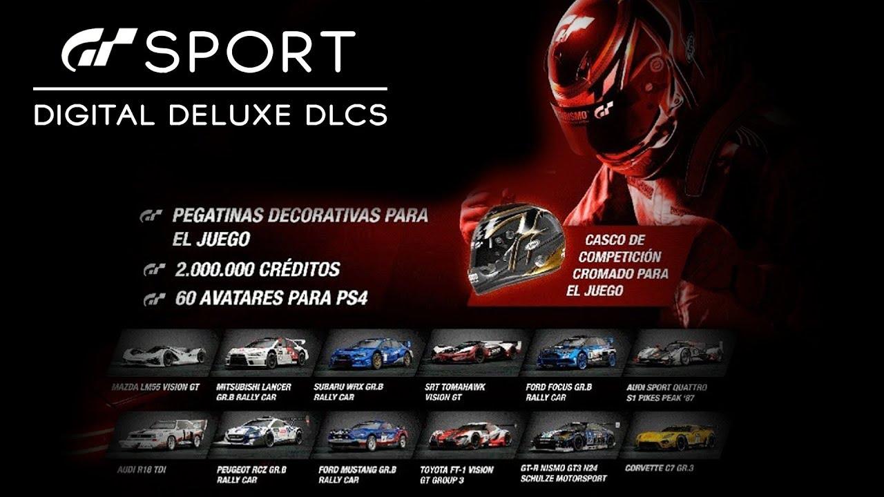 gt sport all digital deluxe dlc limited edition dlcs all 12 starter packs youtube. Black Bedroom Furniture Sets. Home Design Ideas