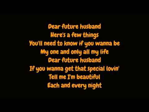 Meghan Trainor - Dear Future Husband (Lyrics HD)