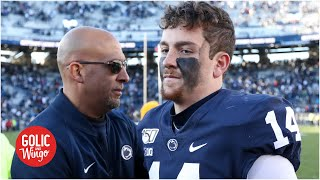 Penn State coach James Franklin alarmed by cyber bullying in college football  | Golic and Wingo