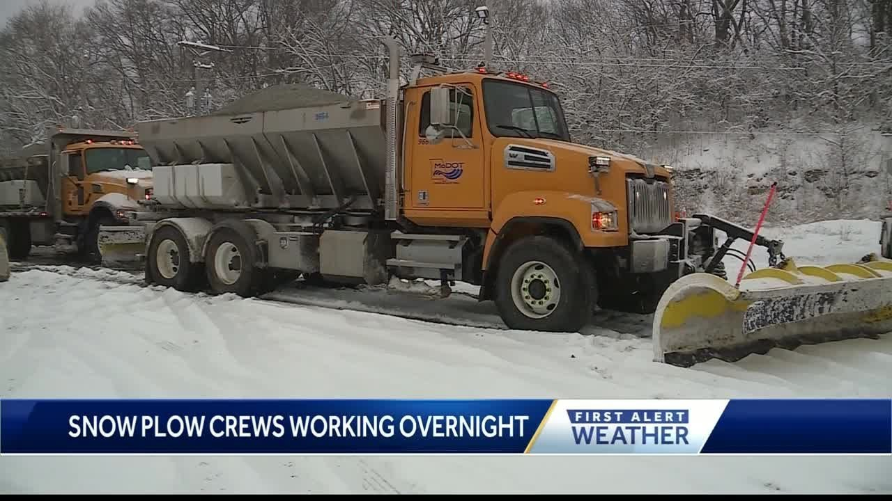 MODOT, KDOT working hard to keep roads clear