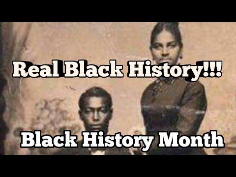 The True History of Black People in America!!!!