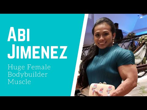 Abi Jimenez Huge Female Bodybuilder Muscle