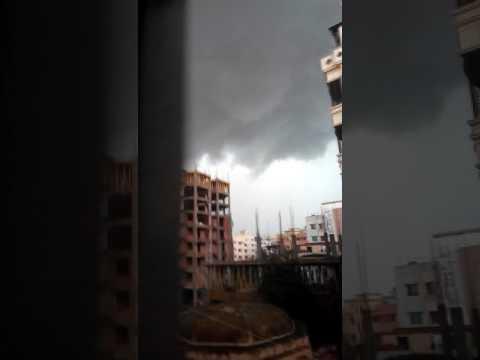 Massive storm cloud in Bangladesh || Weather in Bangladesh || Monsoon || Dhaka || Bangladesh
