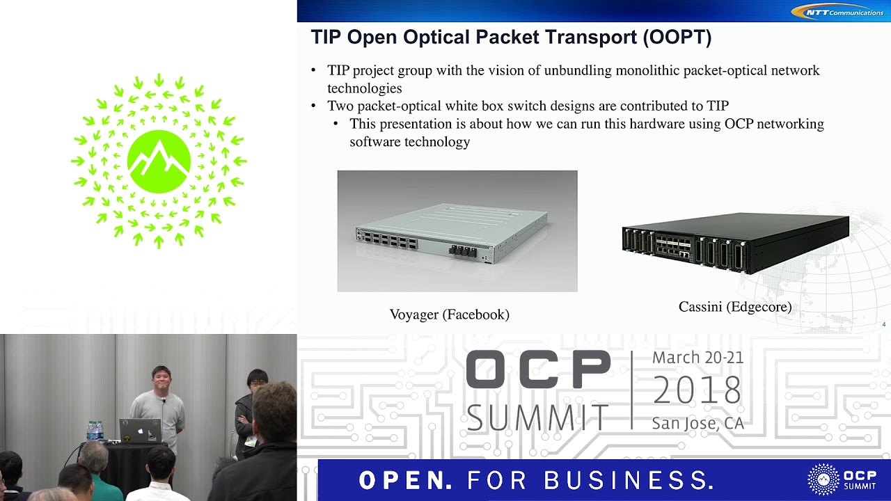OCPUS18 – Open Optical Packet Transponder Leveraging OCP Networking  Technology
