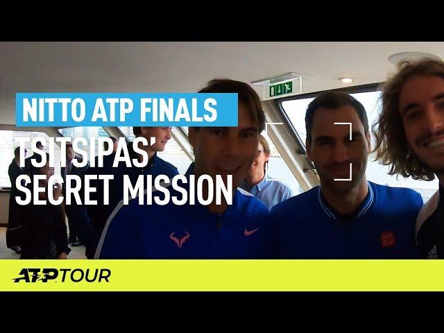 Tsitsipas' Secret Mission | Nitto ATP Finals | ATP