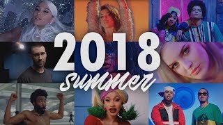 SUMMER HITS 2018 | Mashup +100 Songs | T10MO