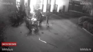 Смертельное ДТП на стадионе «Арсенал» в Туле сняла видеокамера