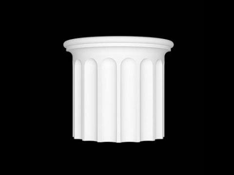 Как делать колонны, полуколонны из гипса методом протяжки без форм