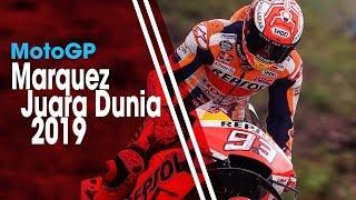 Finish di Posisi Pertama di MotoGP Thailand, Marc Marquez Pastikan Diri Juara Dunia 2019