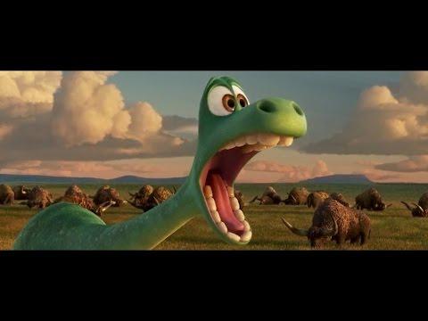 مقطع مضحك من فلم كرتون (The.Good.Dinosau)